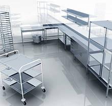 Мебель для пищеблока из нержавеющей стали