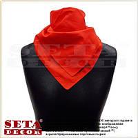 Ковбойский шейный платок красный хлопковый  для ковбойской вечеринки