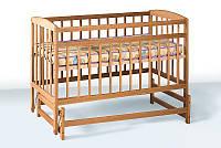 Кроватка детская на шарнирах