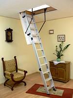 Чердачная лестница OMAN ALU PROFI 120x60 h280см