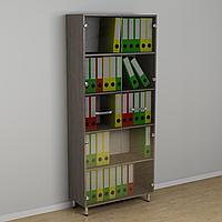Шкаф с стеклянными дверцами для документов 600*330*1856h