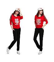 Женский Спортивный  костюм Кензо красный