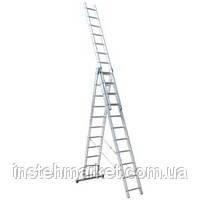 Лестница универсальная Itoss 7611 (3х11), максимальная высота - 710 см