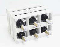 Подставка для вина Прованс Ящик Горизонтальный на 6 бутылок белый