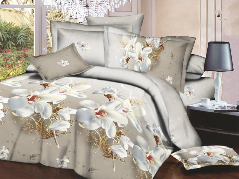 Полуторное постельное белье Restline 3D Альмира