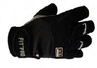 Перчатки для тяжелой атлетики POWER SYSTEM из кожи-нубук высокого класса