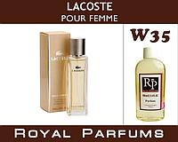 Духи на разлив Royal Parfums 100 мл Lacoste «pour Femme» (Лакосте пур Фем)