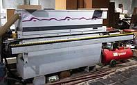 Кромкооблицовочный станок б/у Brandt KD53 2004г. Приклеивание, торцовка, фрезерование. 9 м, фото 1