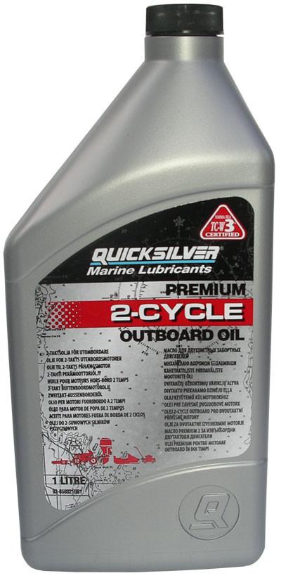 Моторное масло Quicksilver TCW 3 Premium (1л)