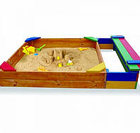 Детская песочница с потайным отделом