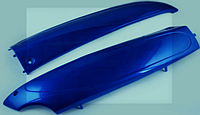 "Пластик  Zongshen GRAND PRIX  P-3270 нижний пара (лыжи) ""KOMATCU"""