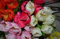"""Искусственные цветы """"Тюльпан"""""""