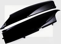 ППластик Zongshen GRAND PRIX нижний пара (лыжи) (черный) KOMATCU