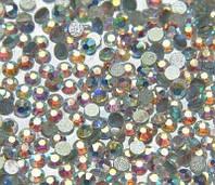 Стразы ,стекло ( аналог Swarovski) SS3 - 1.2мм, хамелеон,100 шт.