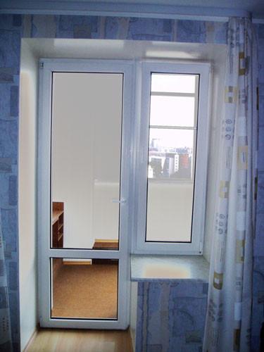 Пластиковая дверь на балкон Ирпень Буча Гостомель ворзель