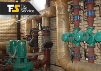 Монтаж и установка систем отопления и ГВС для преприятий