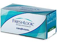 Цветные контактные линзы FreshLook Dimensions 2-шт  1шт-272гр