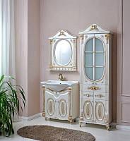 Комплект мебели Атолл Наполеон-75 белый жемчуг патина золото