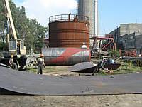 Технология монтажа резервуаров вертикальных стальных цилиндрических тип РВС. Основные принципы организации мон