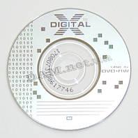 Диск DVD+RW mini XDIGITAL 80mm 1.4GB 30min bulk 50