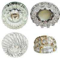 Светильники точечные-софиты (стекло)