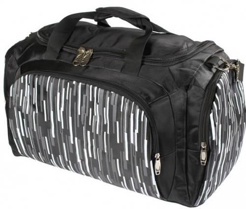 Мужская дорожная сумка в спортивном стиле на 45 L Traum 7067-03 черный