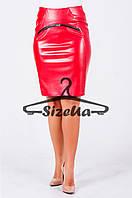 Женская юбка Ребекка красного цвета