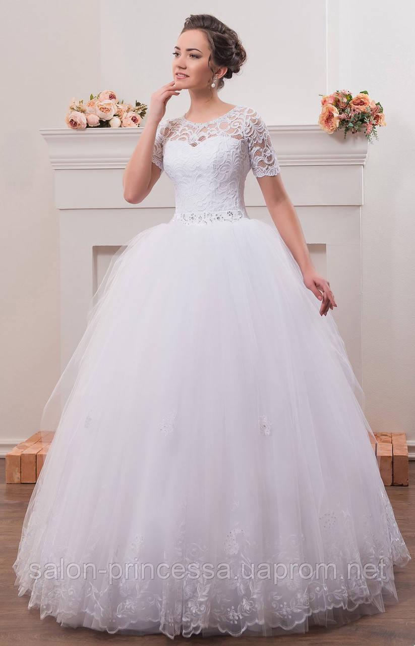 61c67b12541 Свадебное платье