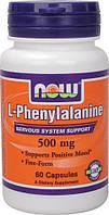Л-фенилаланин / L-Phenylalanine, 500 мг 60 капсул