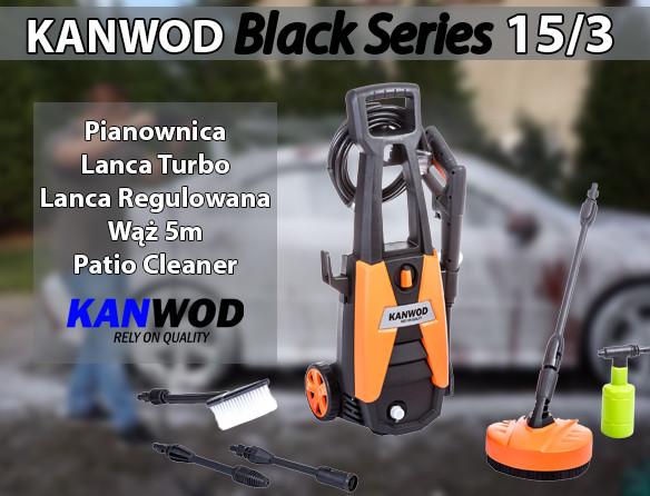 Минимойка (автомойка) KANWOD BLACK RS 15/3 170 BAR ew - ЧП Андреев И.Е. в Николаеве