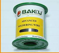 Припой BAKKU проволочный Solder wire BK10004 DIA 0.4mm (100g)