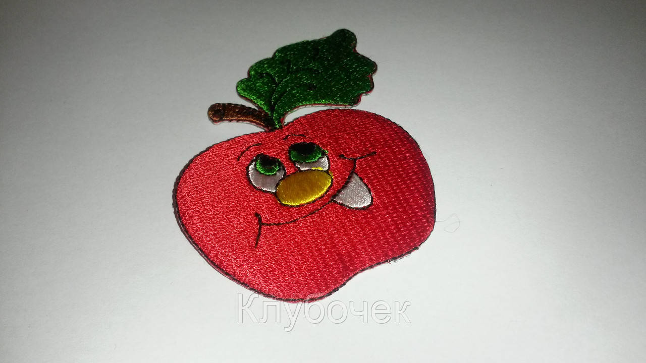 Аппликация яблоко - Клубочек в Херсонской области