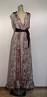 Платье Dolce&Gabbana длинное шелковое .