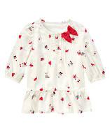 Детская туника (блузка) Gymboree для девочки размер 10 лет, туники блузки для девочек