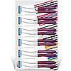 Ножи Tramontina COR & COR 102 мм для томатов фиолетовая ручка 2 шт