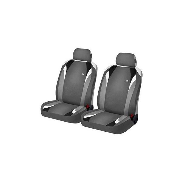 Накидки на передние сиденья Hadar Rosen FORMULA Серый/Черный 21145