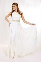 Свадебное платье с гипюровым лифом мод.G0792 (р.40-52)