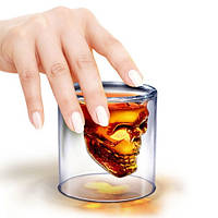 "Стакан для виски ""Череп"" UFT skull glass"