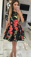 Женское стильное  Платье Гвоздика