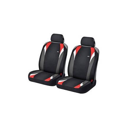 Накидки на передние сидения Hadar Rosen FORMULA Черный/Красный 21148, фото 2