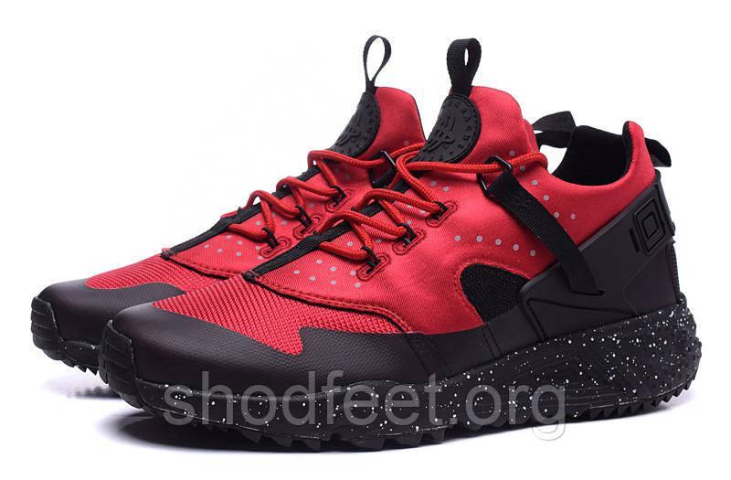 Мужские кроссовки Nike Air Huarache Utility Red/Black