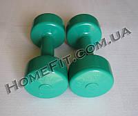 Гантели для фитнеса 2 шт по 3 кг