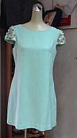 Короткое платье Valentino ментоловое нарядное