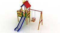 Детский игровой комплекс Праздник 1,5м