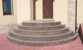 Лестницы гранитные от производителя Житомир (Образец 611)