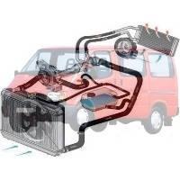 Система охолодження Ford Transit Форд Транзит 1986-1991