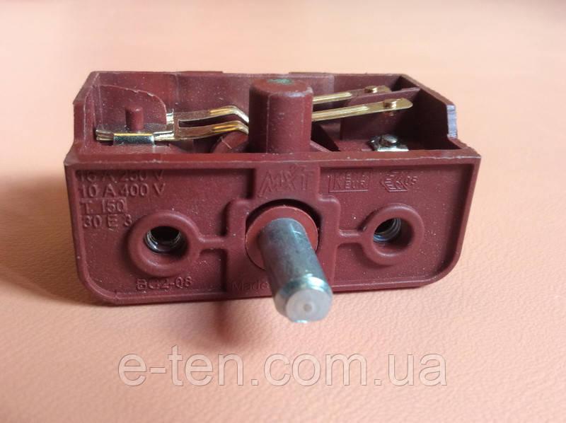 Переключатель четырехпозиционный BC2-08 / 16А / 250V / Т150 для электроплит        Турция