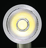 Светодиодный трековый светильник 20 Вт холодный белый 6500К, фото 7