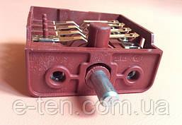 Перемикач п'ятипозиційний BC4-10 / 16А / 250V / Т150 для електроплит Туреччина