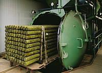 Автоклав для импрегнации (пропитки) древесины